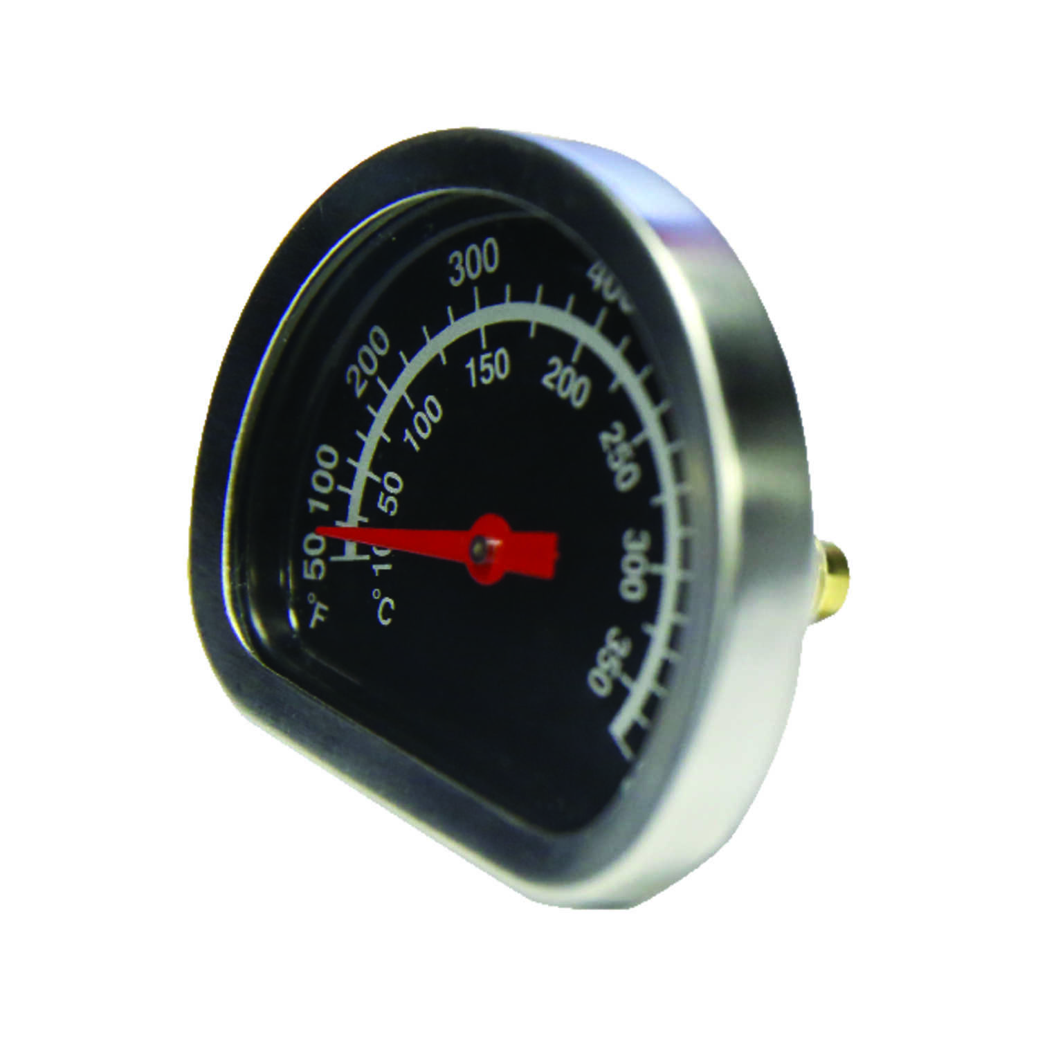 GrillMark  Stainless Steel  Grill Thermometer  Analog