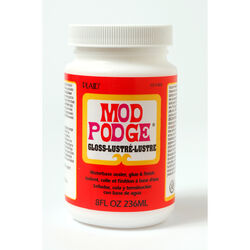 Plaid  Mod Podge  Gloss  White  Decoupage  8 oz.