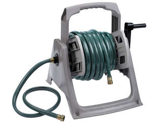 Suncast  Hose Handler  100 ft. Stationary  Brown  Hose Reel