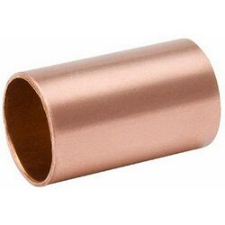 Mueller Streamline 3/4 in. Solder x 3/4 in. Dia. Solder Wrought Copper Coupling without Stop