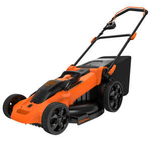 Black and Decker  20 in. W Manual-Push  Mulching Capability Lawn Mower