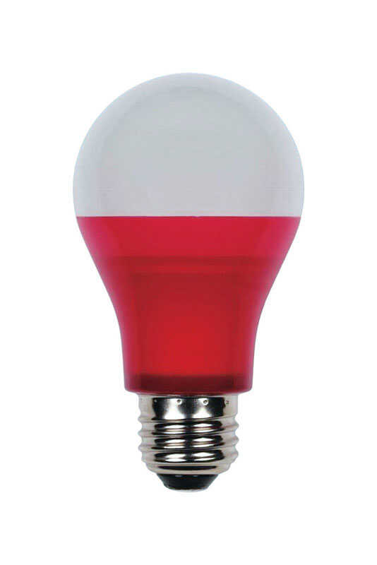 Westinghouse  5 watts A19  LED Bulb  Red  A-Line  40 Watt Equivalence