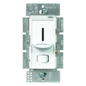 Lutron  Skylark  White  600 watts 3-Way  Dimmer Switch  1