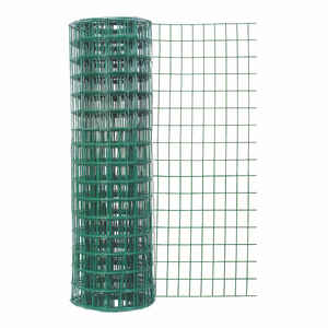 Garden Zone  24 in. H x 50 ft. L Vinyl  Garden  Fence  Green