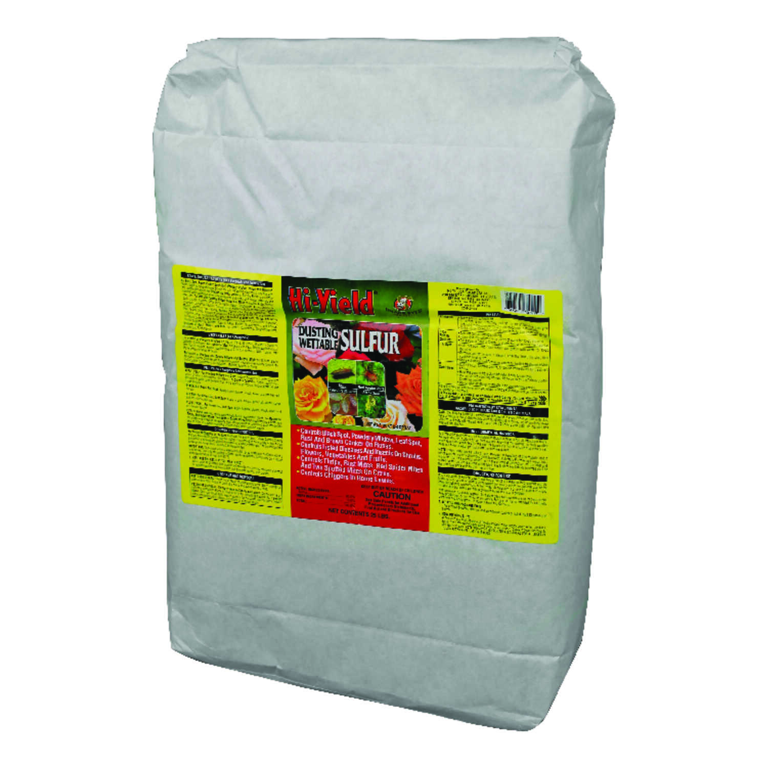 Hi-Yield  Dusting Wettable Sulfur  Insect Killer  25 lb.