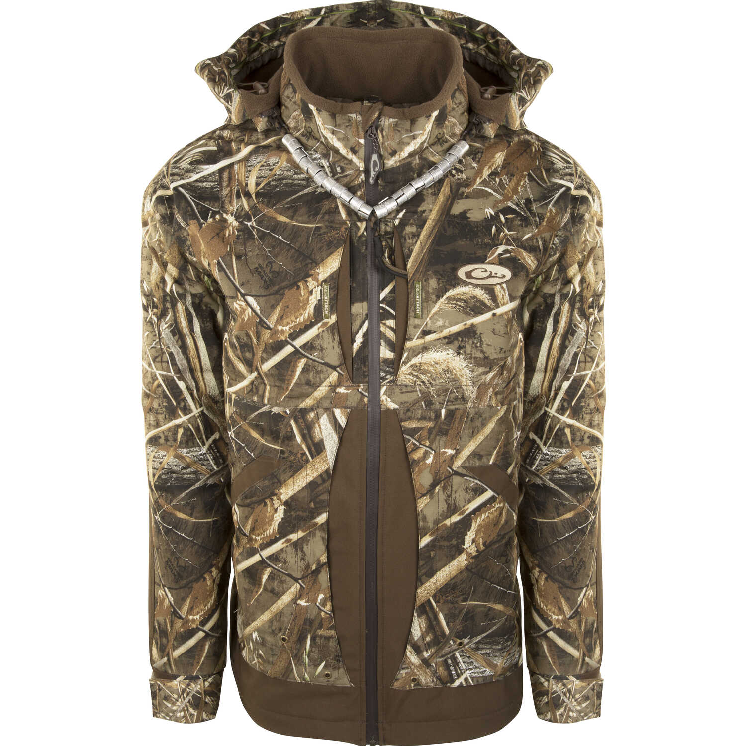 Drake  Guardian Flex Fleece Lined  X-Large  Men's  Long Sleeve  Full-Zip  Realtree Max-5  Jacket
