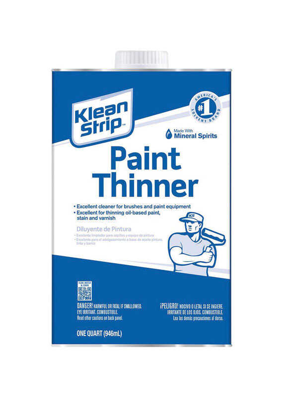 Klean Strip  Paint Thinner  1 qt.