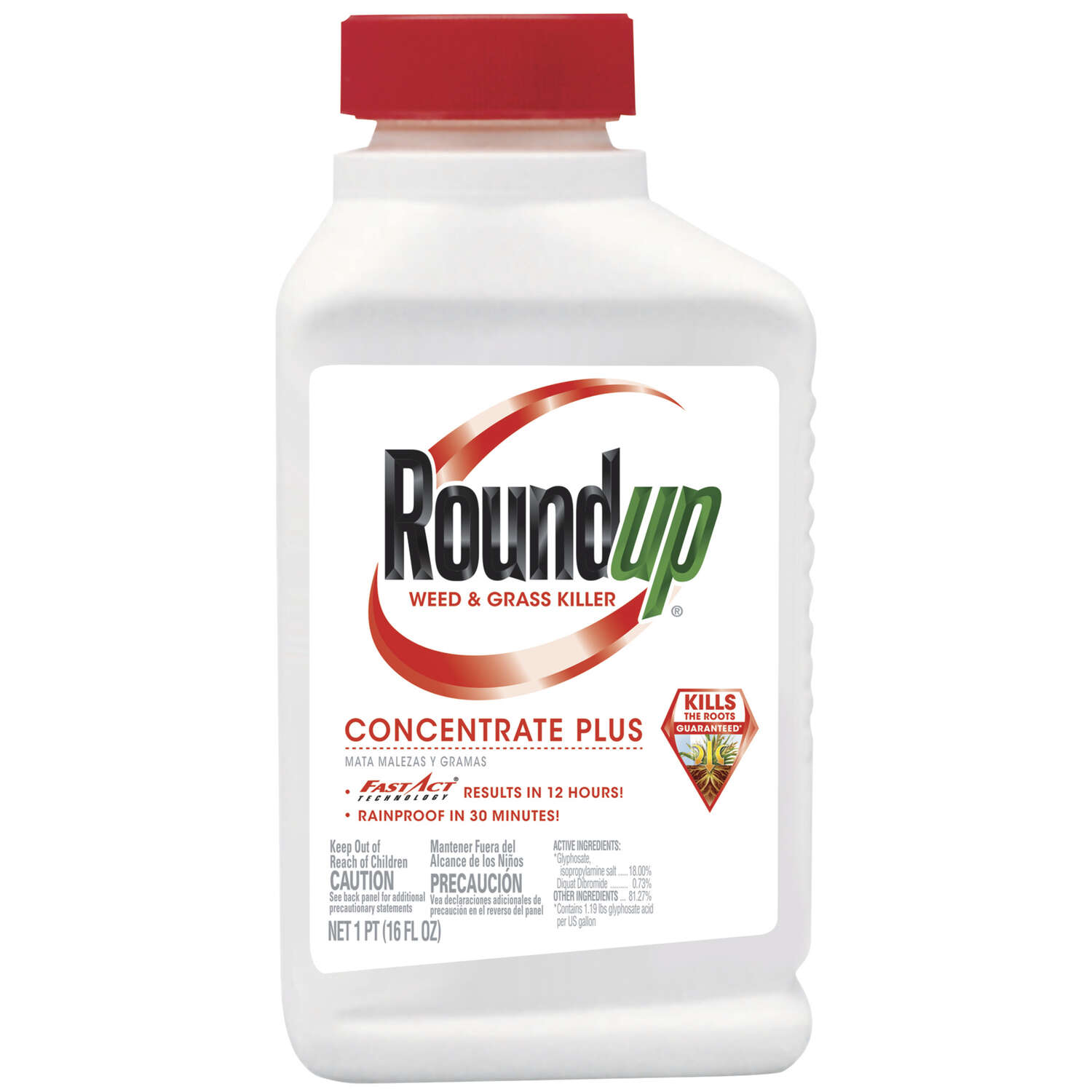 Roundup Grass & Weed Killer Concentrate 16 oz.