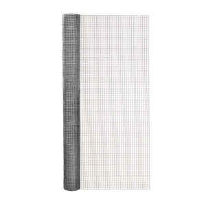 Garden Zone  24 in. W x 10 ft. L Silver Gray  Steel  Hardware Cloth  1/4 in.
