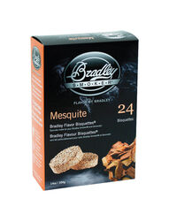 Bradley Smoker  Mesquite  All Natural Wood Bisquettes  24 pk