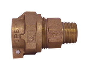 Legend  3/4 in. MIP   x 3/4 in. Dia. Pack Joint  Bronze  Coupling