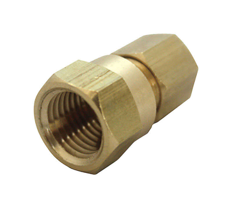 ACE  1/4 in. 1/4 in. FPT  Dia. x 1/8 in. Dia. x Compression   x 1/8 in. FPT  Dia. Female  Brass  Com