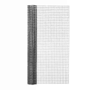 Garden Zone  24 in. W x 5 ft. L Silver Gray  Steel  Hardware Cloth  1/2 in.