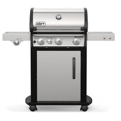 Weber  Spirit SP-335  Liquid Propane  Grill  Stainless Steel  3 burners