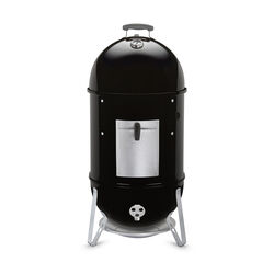 Weber  Smokey Mountain  Charcoal/Wood  Smoker  Black