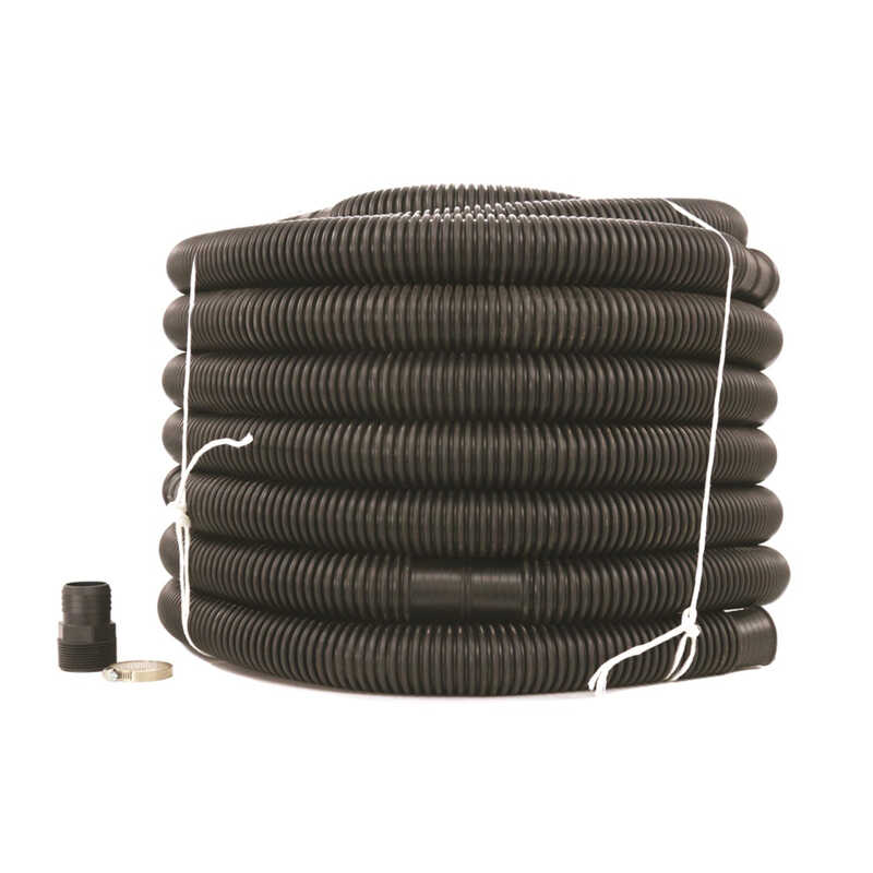 Drainage Industries  Prinsco  Discharge Hose Kit  1-1/2 in. Dia. x 1-1/2 in. Dia. x 96 ft. L Plastic