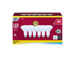 Ace  BR30  E26 (Medium)  LED Bulb  Soft White  65 Watt Equivalence 6 pk