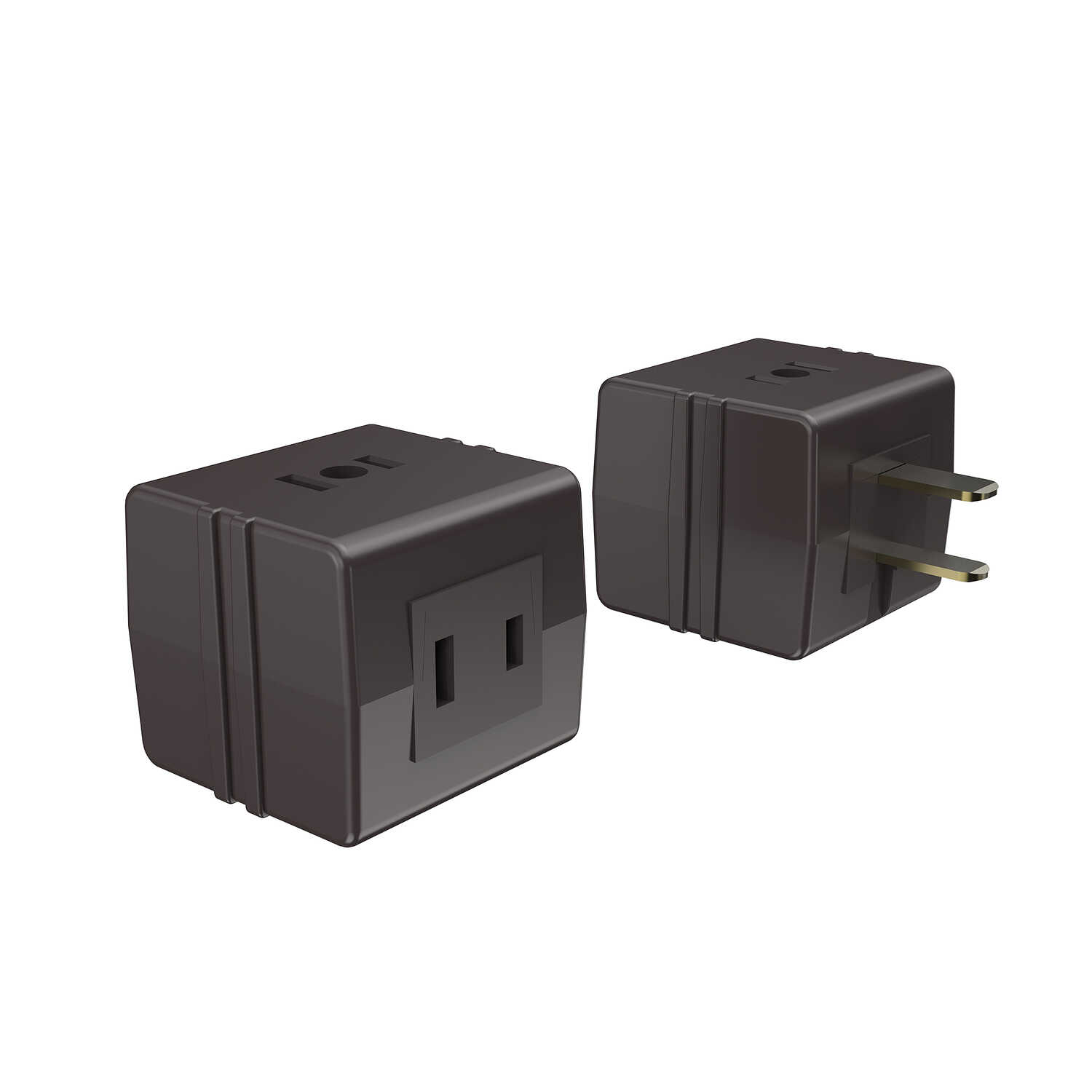 Ace  Polarized  3  Triple Outlet Adapter  Surge Protection 1 pk