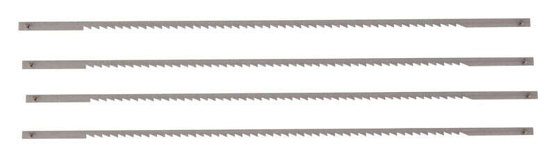 Stanley  6.5 in. Coping Saw Blade  10 TPI 4  Steel
