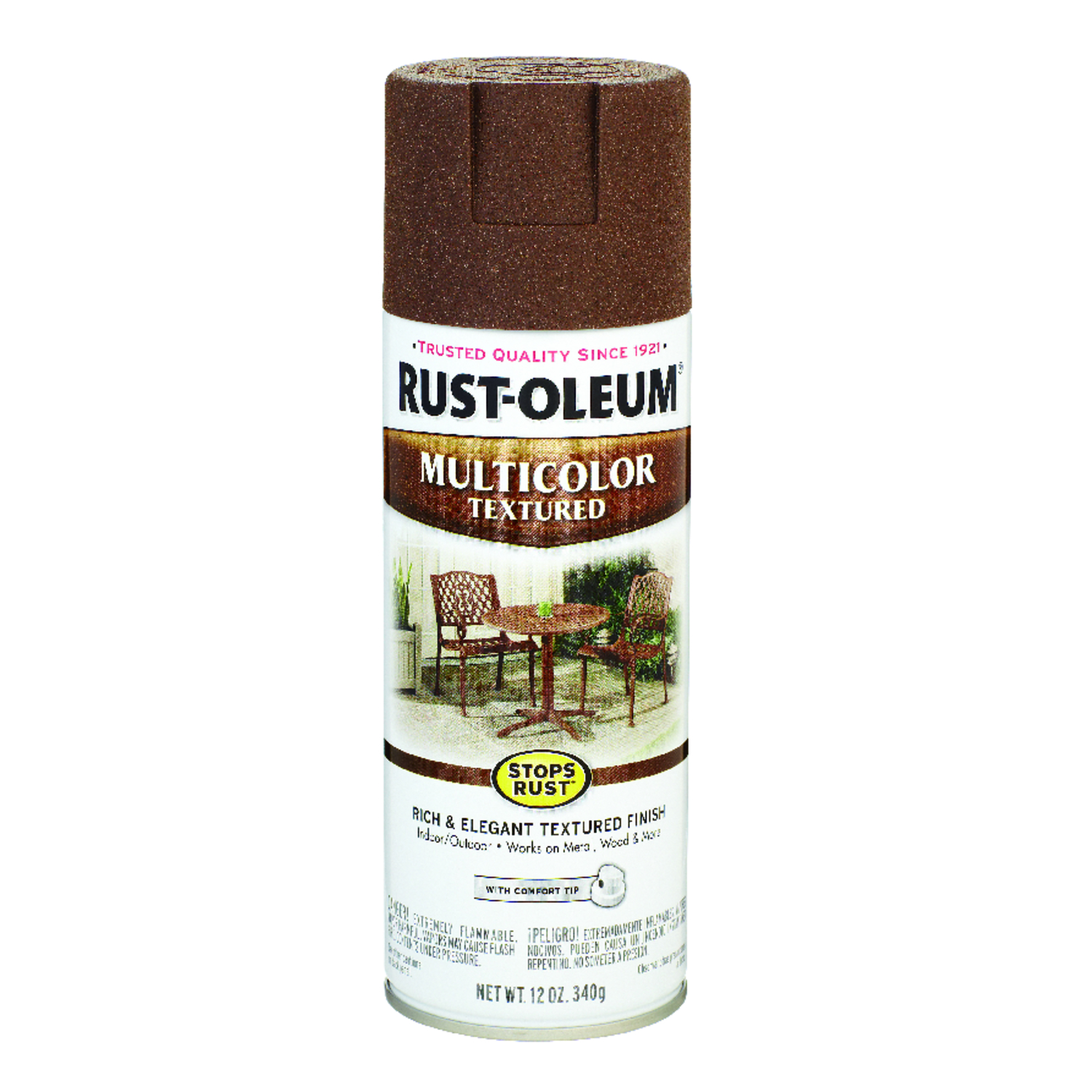 Rust-Oleum  Stops Rust  Autumn Brown  Spray Paint  12 oz.