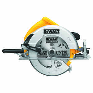 DeWalt  7-1/4 in. Corded  15 amps Lightweight Circular Saw  Bare Tool  5200 rpm