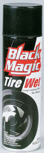 Black Magic  Tire Wet  14.5 oz. Tire Shine
