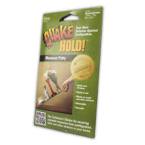 Quake Hold  White  Museum Putty  0 lb. 1 pk