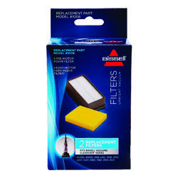 Bissell  Vacuum Filter  For Upright Vacuums 2 pk