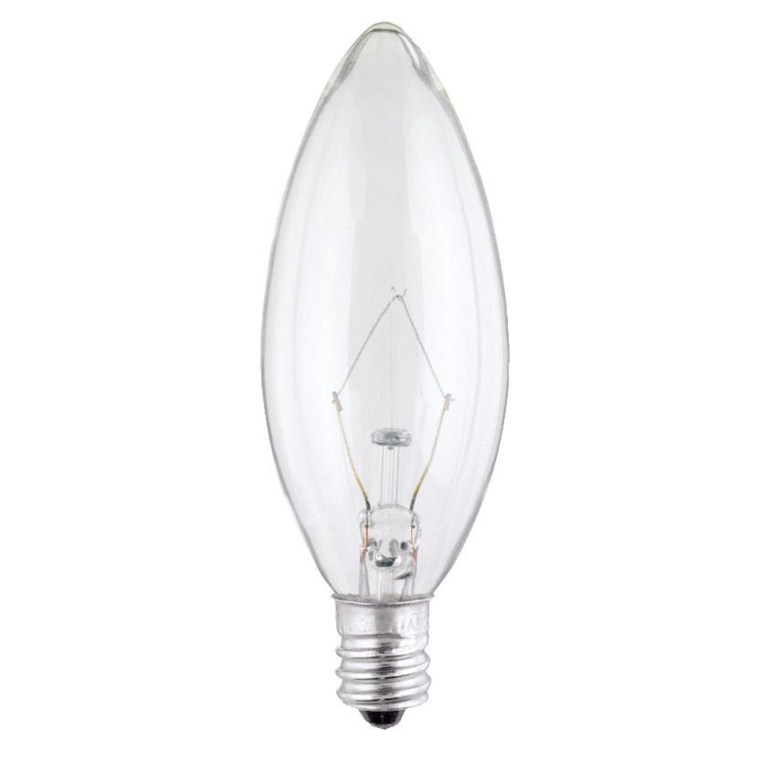 Westinghouse  60 watts B10  Incandescent Bulb  615 lumens Warm White  Decorative  2 pk