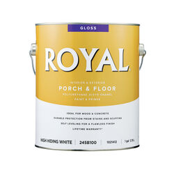 Royal  Gloss  High-Hiding White  Porch & Floor Alkyd Enamel  1 gal.