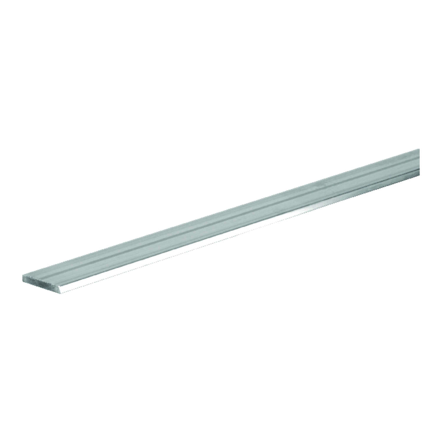 Boltmaster  0.125 in.  x 1.25 in. W x 3 ft. L Weldable Aluminum Flat Bar  1 pk