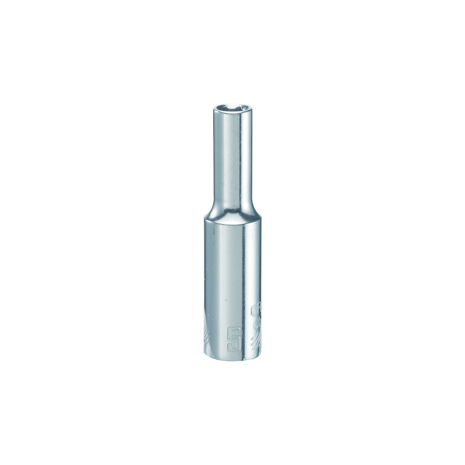 Craftsman  5 mm  x 1/4 in. drive  Metric  6 Point Deep  Socket  1 pc.