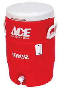 Igloo  Ace  Water Cooler  5 gal. Red