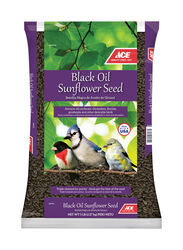 Ace  Assorted Species  Black Oil Sunflower Wild Bird Food  Black Oil Sunflower Seed  5 lb.