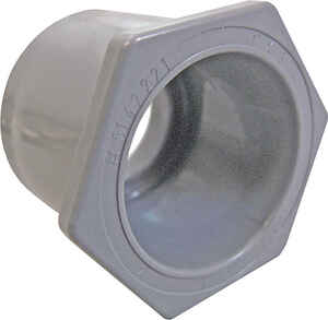 Cantex  1 X 3/4 in. PVC  Reducing Bushing  1 pk