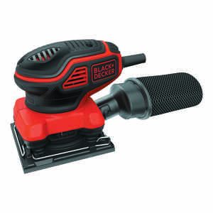 Black+Decker  2 are 120 volt Corded  1/4 Sheet  Palm Sander  4.25 in. L x 4.5 in. W 16000 opm
