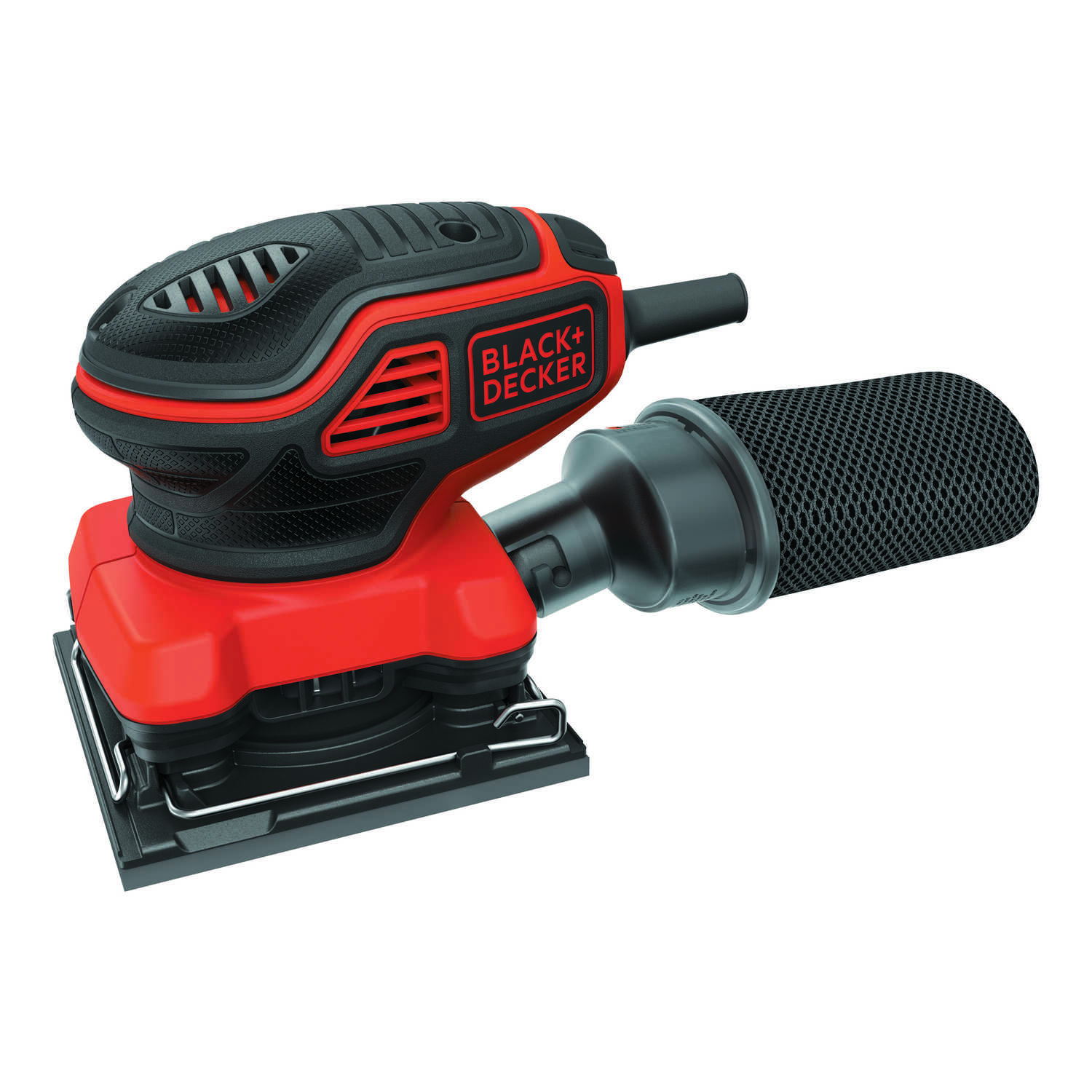 Black+Decker  120  1/4 Sheet  Corded  Palm Sander  4.25 in. L x 4.5 in. W 1600 opm
