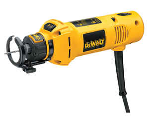 DeWalt  Heavy Duty  1/4 and 1/8 in. Corded  Cut-Out Tool  5 amps 30000 rpm 1 pc.