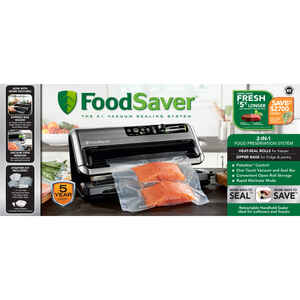 FoodSaver  Black  Vacuum Food Sealer