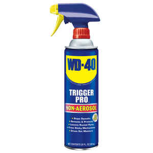 WD-40  Trigger Pro  Lubricant  Bottle  20 oz.