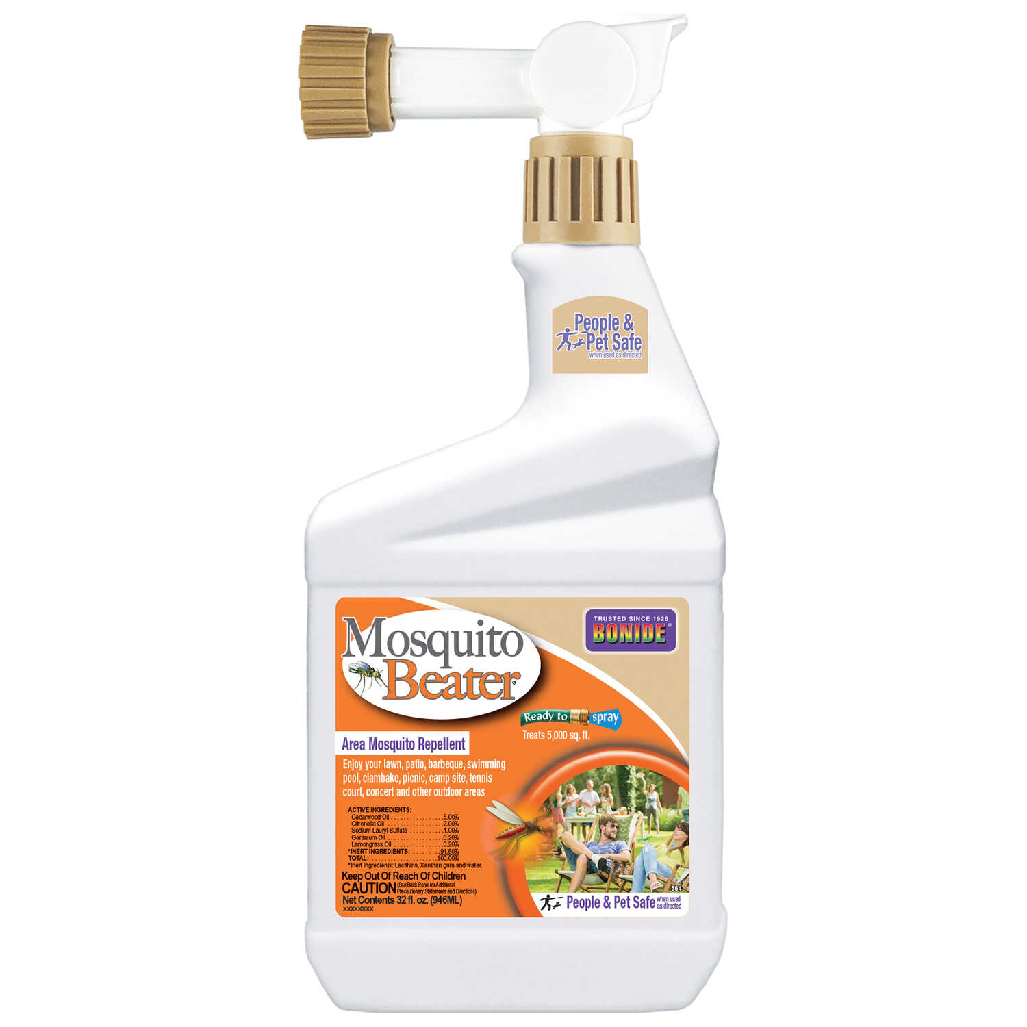 Bonide  Mosquito Beater  Insect Repellent  Liquid  For Mosquitoes 1 qt.