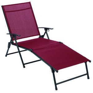 Living Accents  Sling  Folding Chaise