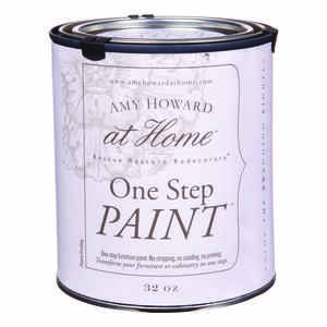Amy Howard at Home  Flat Chalky Finish  French Blue  Latex  One Step Paint  32 oz.