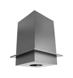 DuraVent  DuraPlus  6 in. Stainless Steel  Square Ceiling Support Box
