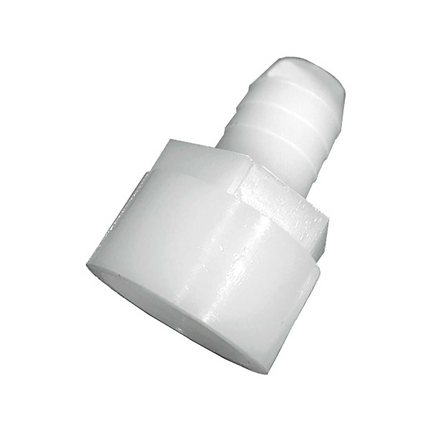 Green Leaf  Nylon  Adapter  3/8 in. Dia. x 1/4 in. Dia. White  1 each