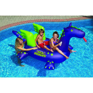 Swimline  Purple  Vinyl  Inflatable Sea Dragon  Pool Float
