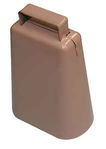 SpeeCo  Steel  4-7/8 in. H Cowbell