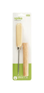 True  Spike  Beige  Steel/Wood  Ice Pick