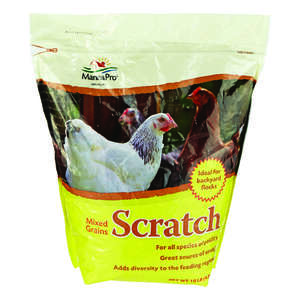 Manna Pro  Scratch  Feed  Crumble  For Poultry 10 lb.