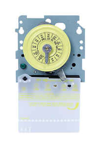 Intermatic  Indoor  Timer Mechanism  277 volt Gray